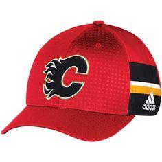 wholesale dealer 0de3b b5f49 Men s Calgary Flames adidas Red 2017 Draft Structured Flex Hat, Your Price    29.99
