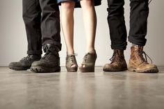 Band Photography feet