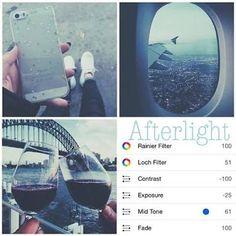 filters afterlight - Pesquisa Google