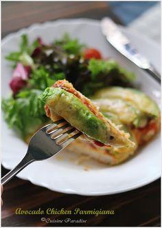 Cuisine Paradise   Singapore Food Blog   Recipes, Reviews And Travel: Avocado Chicken Parmigiana