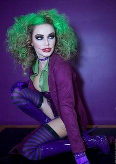 The Joker cosplay....
