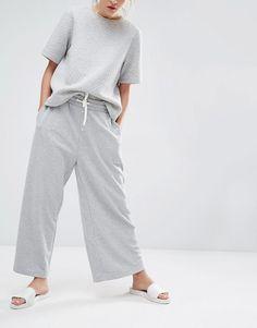 Image 4 -Monki Wide Leg Lounge Pant