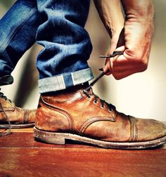 Brave Star Selvage x Red Wing