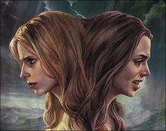 Buffy and Faith