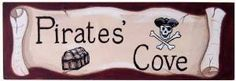 Pirate's Cove Wood Wall Plaque Sherri Blum http://www.amazon.com/dp/B00NG719UO/ref=cm_sw_r_pi_dp_N60Bub0RB0F16