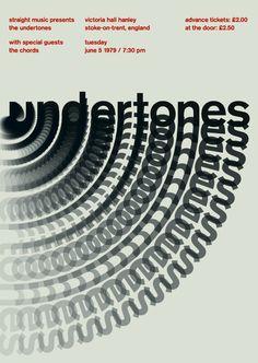 the undertones, 1979 D'impatto e veramente geniale. Sarebbe ottimo come ispirazione per un festival di design.