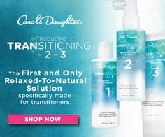 Transition from relaxed to natural hair