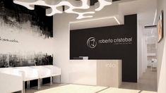 Cosmetic Dentistry Offices à dents … - Alles über Mundpflege 2020 Dental Office Decor, Medical Office Design, Home Office Design, Clinic Interior Design, Clinic Design, Dentist Clinic, Office Waiting Rooms, Dental Design, Office Interiors
