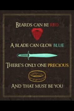 Middle Earth valentine