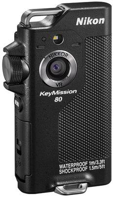 Nikon KeyMission 170 et KeyMission 80, la gamme de caméras d'action s'étoffe http://www.nikonpassion.com/camera-nikon-keymission-170-keymission-80/