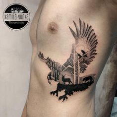 Amazing Perfectly Place Eagle Tattoos Designs For Beautiful Body! - Page 23 of 41 - TattoFit. Tattoos Arm Mann, Hot Tattoos, Arm Tattoos For Guys, Couple Tattoos, Trendy Tattoos, Body Art Tattoos, Tattoos For Women, Sleeve Tattoos, Tattoo For Man