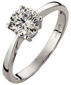 Platinum 1 Carat - Dream Ring