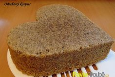 Ořechový korpus, forma pr.21cm Banana Bread, Cheesecake, Food And Drink, Cooking Recipes, Sweets, Cookies, Baking, Desserts, Hampers