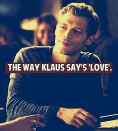 Joseph Morgan/ KLaus This guy might not be the obvious choice for this board ... But there is still something about he's mysterious, villain yet charming self ... And the reason on the picture ... So he deserves the spot no doubt :)