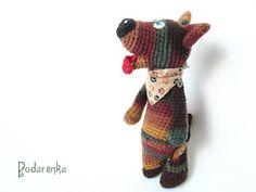 Podarёnka: Crochet dog Bobby