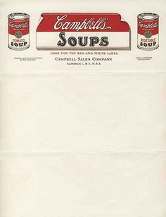 I like how they made their letterhead look like a brand label off of a can of soup. It grabs attentions, yet is still formal.