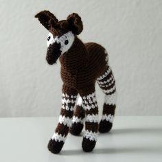 Pattern Jamaal the okapi
