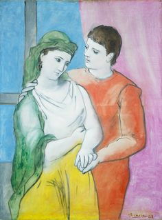 """""""The Lovers"""", Picasso"""