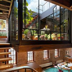 Tribeca Loft, Architecture, Interiors, Terrace, Green Roof, Renovation, Historic Building, NYC | Andrew Franz Architect