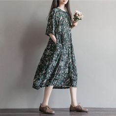Cheap dress celeb, Buy Quality clothing for large size women directly from China dresses princess Suppliers:     Summer Dress Floral Print High Waist Women Dress Black Color Plus Size Women Clothing Cotton Long Dress Mori Girl