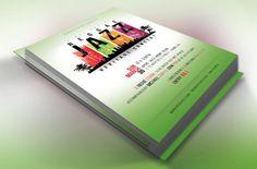 Reggae Jazz Concert Flyer Poster by Godserv Graphics on @creativemarket