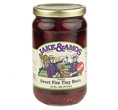 >> New offers awaiting you : Jake and Amos Sweet Fire Pickled Red Beets, 16 Oz. Jar (Pack of 4) at Quick dinner ideas.
