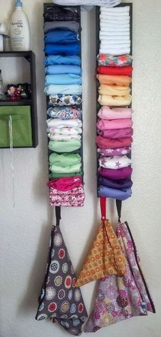 Cloth Diaper Storage - Love It!