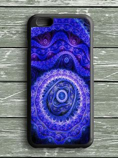 Blue Abstract iPhone 6S Plus Case