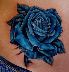 realistic purple rose tattoo cover up - Google Search
