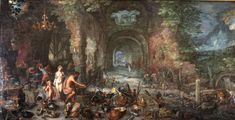Jan Brueghel l'Ancien, dit de velours, Le Feu, 1606