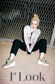 <1st Look> 2014.09  Crystal  #fx #crystal #ahnjaehyun #kpop #kpopidol #idol #beauty #esteem #esteemmodels #sm #kpopmusic #1stlook #singer