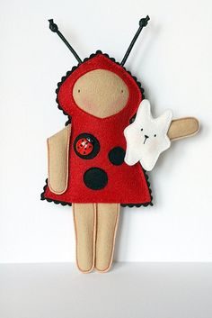 Jasna The Ladybird by made by agah, via Flickr