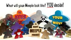 The Giant Meeple Project - Make/100 project video thumbnail