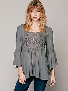 Free People Sweet Emotion Swing Top