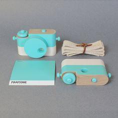 Menta - fotocamera giocattolo in legno