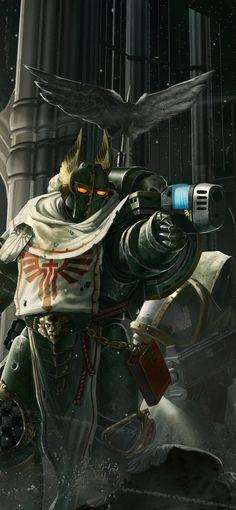 Warhammer Aos, Warhammer 40000, Dark Angels 40k, Tau Empire, Swords And Daggers, Space Marine, Concept Art, Darth Vader, Geek