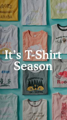 It's t-shirt season ☀ Summer Essentials, Seasons, Shorts, T Shirt, How To Wear, Shopping, Collection, Tops, Women