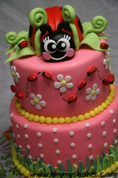 Ladybug-pink