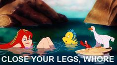 The Little Mermaid Inappropriate GIF