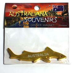 Shark, Fridge-Magnet, Bottle-Opener   MASH-GOLD
