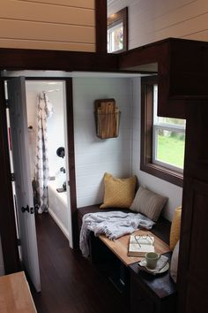 Luxurious 200 sq.ft. tiny house built for a family of four.