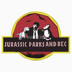 jurassic parks and rec Unisex T-Shirt. All sizes available