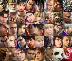 Tekken montage honors 20 years of the Iron Fist Tournament - You can cite bombastic graphics or Bandai Namco's fluid take on hand-to-hand combat, but let's be honest: People have been playing Tekken for two decades because you just Jon Rafman, Street Fighter Tekken, Japanese Video Games, Tekken 7, Video Game Anime, Latest Video Games, Playstation Games, Iron Fist, Fighting Games