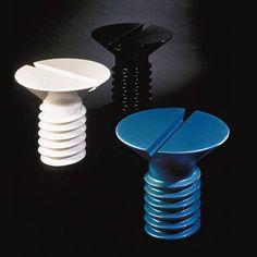Retro Fibreglass SCREW YOU side tables/stools.... BIEN URBANO?????