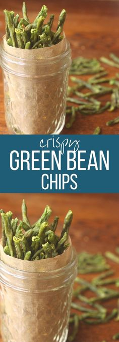 These crispy green bean chips from Whole New Mom are easy to make and a great way to get veggies into you and your family's diet. They're gluten-free and dairy-free, too. Enjoy them for a healthy snack.