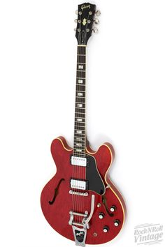 1967 Gibson ES-335 Bigsby Cherry Red