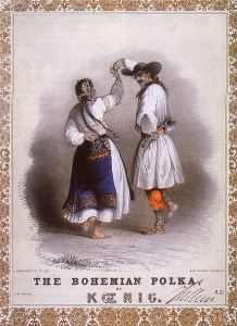 It's Past Blast Tuesday! Today's post is continuing my series on dances in history. Last week I talked about the waltz and this week I talk about the pokla (a sort of deviation of the waltz). http://tammayauthor.com/index.php/2015/09/08/past-blast-tuesday-19th-and-early-20th-century-dances-part-2-the-polka/