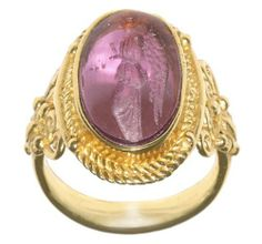 Tagliamonte 14k Yellow Gold Light Purple Venetian Glass Ring, Size 7 Amazon Curated Collection. $999.00. Made in Italy