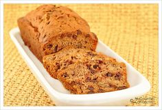Spiced Chocolate-Pear Loaf - I substituted brandy for the rum and hazelnuts for the walnuts.  Amazingly ambrosial!