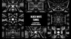 Black White Tunnel Background Pack    #Award, #Blinking, #Blue, #Celebration, #Dance, #Event, #Fantasy, #Fashion, #Light, #Music, #Particle, #Party, #Rightbox, #Sparkles, #Stage, #Vj